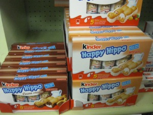 I'd definitely be a happy hippo if I ate too much of this candy :)