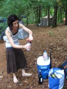 LeeAnn making her fancy sangria