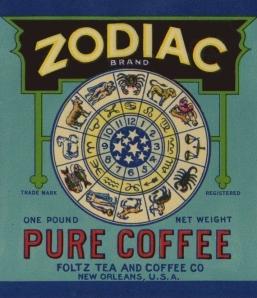 Zodiac Coffee Clock